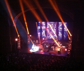Joe Bonamassa at the Royal Carré theater, November 2010 - On the stage